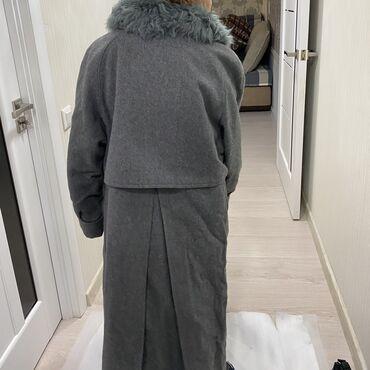 termos evropa в Кыргызстан: Лама пальто с Германии новое драповый качественный с расчёской для