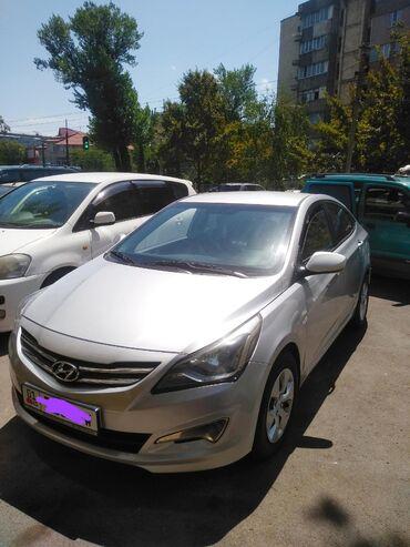 хундай-140 в Кыргызстан: Hyundai Accent 1.4 л. 2015 | 105000 км