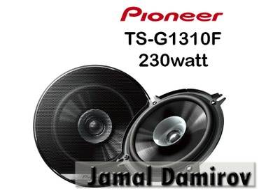 monitor pioneer - Azərbaycan: Pioneer Dinamiklər TS-G1310F 230watt.  Динамики Pioneer TS-A1306C 230w