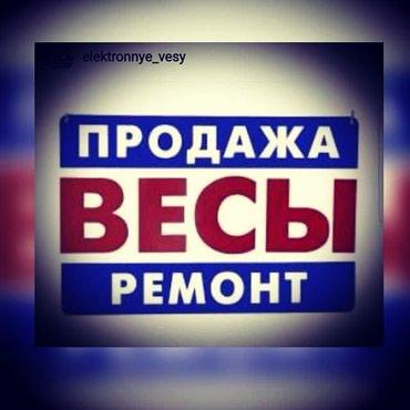 Весы электронные. продажа ремонт аренда гарантия. в Бишкек