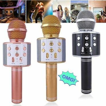 Karaoke mikrofonlarıÇatdırılma 2 və 5 ci günlər, Mağaza yoxdur, Online
