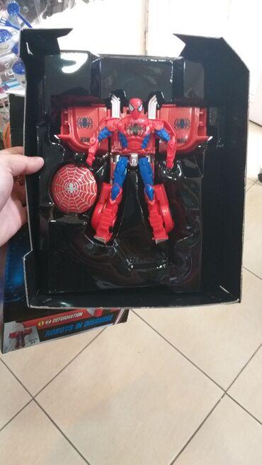 açılıb yığılan transformer çarpayı - Azərbaycan: Transformer celovek pauk,Hulk modelide var.her nov oyuncaqlarin online