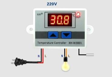 Электроника - Кара-Суу: Терморегулятор 220v для инкубатора для брудера для холодильника для