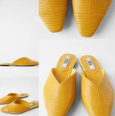 Другая женская обувь в Бостери: Продаю новые мюли zara оригинал,кожаные, удобные, 39 размер