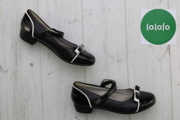 Дитячі лакові туфлі Fieerinni, р. 34    Довжина підошви: 22 см Висота