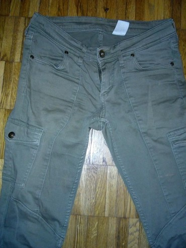 Pantalone zelene broj - Srbija: Maslinasto zelene pantalone 26 br