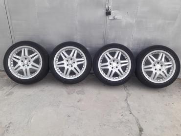R18 колеса брабус 5х112 вылет ет 35 ширина 8.5 на мерседес стояли на S