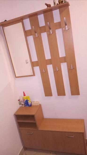 Pamuk sa elastinom udobn - Srbija: Komplet predsoblje - garderober-240x125x55, cipelarnik-200x70x35, deo