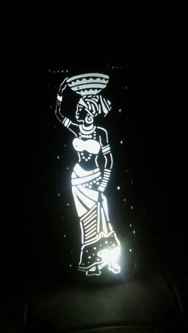 Rasveta | Varvarin: Stona lampa Afican girlIzrada lustera i stonih lampi kao I 3D lampi I