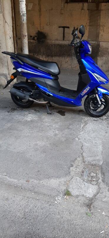 bakida motosiklet satisi - Azərbaycan: Salam moon 2019 moped sadəcə 1 müddət sonra tormuz nakladkaları