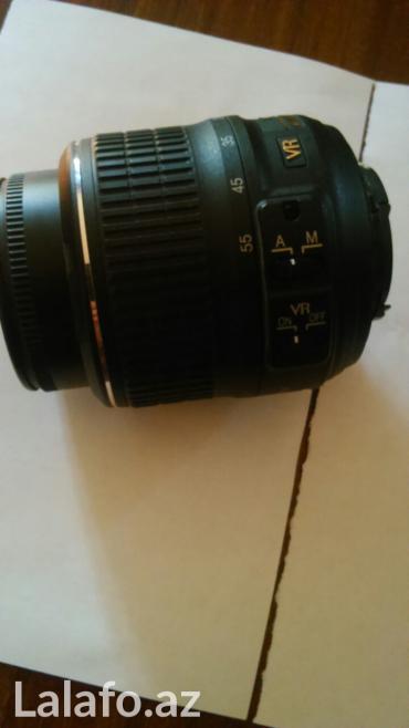 Bakı şəhərində Obyektiv nikon fotoaparatinin ustunde gelib. Tezesi 197 dollardi. 200