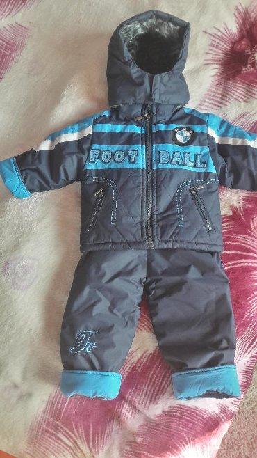 детские куртки комбинезоны в Кыргызстан: Продаю детский комплект куртка + комбинезон. Размер 1-3 года. б/у в