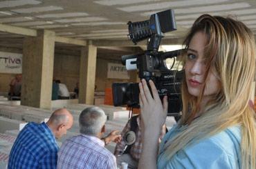 Bakı şəhərində Video çekiliş