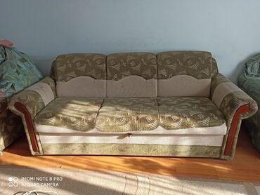 термобиндеры для дома в Кыргызстан: Срочно продаю диван. Деревянный. Продаю сразу трёх по цене одной