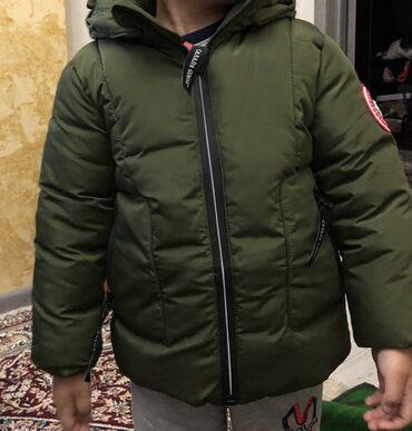 Куртка зимняя на мальчика 4-5 лет. В идеальном состоянии. Цена оконча