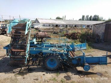 Сельхозтехника - Кыргызстан: Свеклопогрузчик СПС-4,2. Агрегатируется трактатами класса МТЗ. Техн