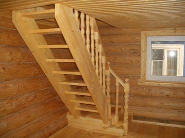 Лестницы по вашему дизайну из дерева, и из чего захотите! в Бишкек