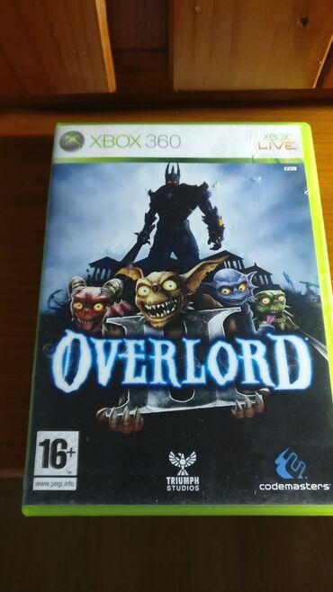 Xbox 360 & Xbox | Srbija: Overlord Xbox 360  Polovna igra za Xbox 360 koja je testirana i potpun