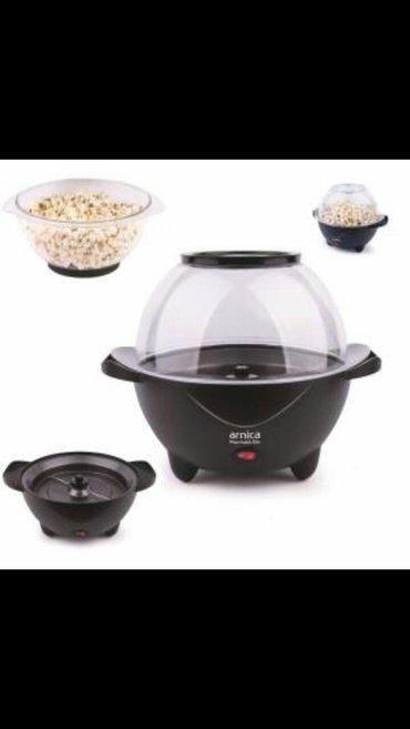 """Xırdalan şəhərində """"Arnica"""" Popcorn hazırlayan aparat  həm Popcorn. Leblebi hazırlayan ap"""