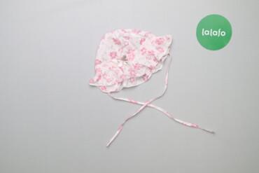 Дитяча панамка з паєтками на зав'язках     Висота: 16 см Напівобхват г