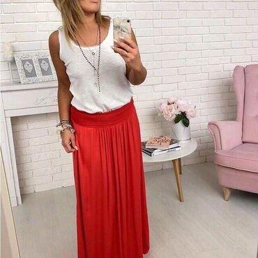 Ženska odeća | Majdanpek: Suknja dugacka Univerzalna velicina 1350
