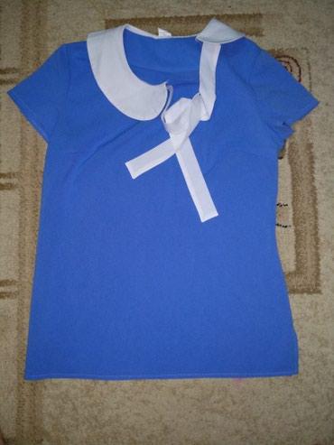 платья рубашки оверсайз в Кыргызстан: Женская блузка, рубашка, новая, размер 44, отличного качества