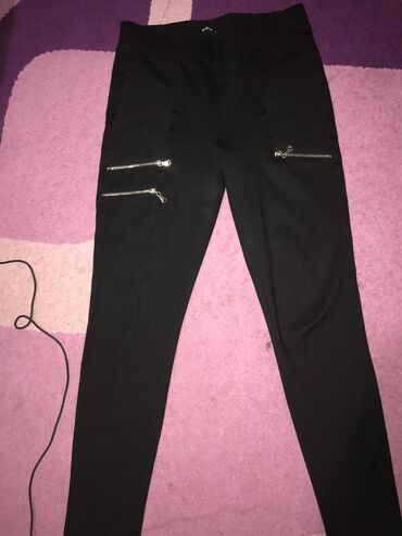 3 за 500 сомов джинсы Масима Дути брюки в полоску МаркСпенсер чёрные б