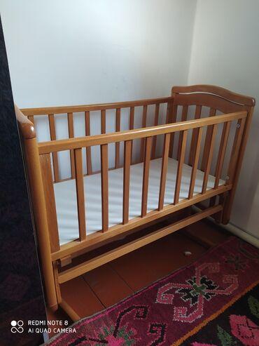 geoby трансформер в Кыргызстан: Детский кровать можно качать как колыбель