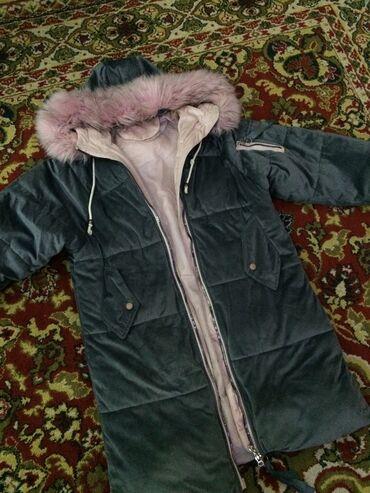Продам тёплую куртку почти новая зимняя