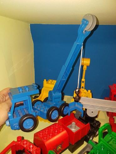 Lego razna vozila. Bager, vatrogasac, kamion , djubretar, majstor Bob - Belgrade