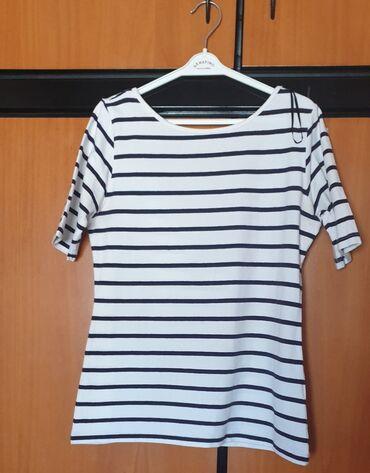 Ριγέ μπλούζα  1η φωτογραφία το μπροστά  2η φωτογραφία το πίσω  Άσπρου