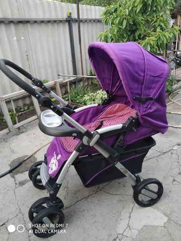 Детский мир - Кыргызстан: Детская коляска Huizhi - Хорошая широкая коляска В хорошем состоянии