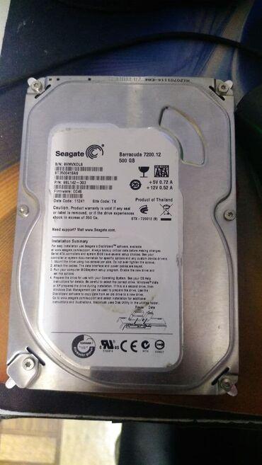 Жёсткий диск Seagate 500gb состояние на фото Цена 1000сом