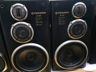 музыкальные центры в Кыргызстан: Колонки, акустика, буфер, сабвууфер Pioneer S-701Pioneer S-701,Pioneer