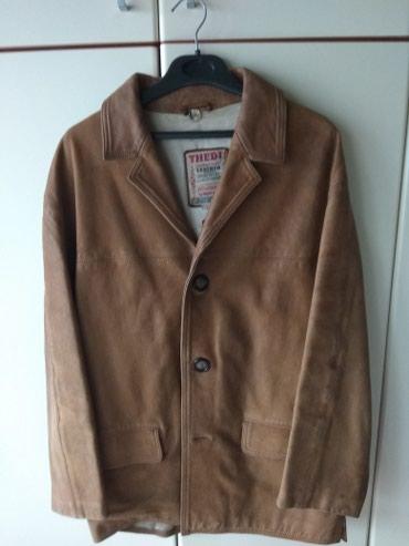 THEDI, δερμάτινο σακάκι, χειροποίητο, γνήσιο, 100% δέρμα, large, από