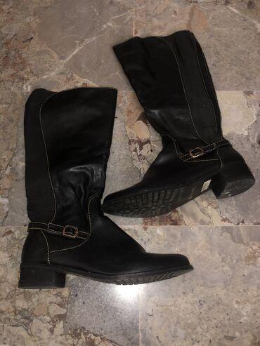 Δερματινες γυναικείες μπότες Migato σε καλή κατάσταση χωρίς καμία