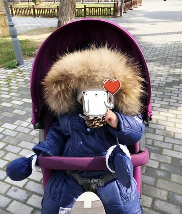 зимние развлечения в Азербайджан: Комбинезон зимний, мех натуральный