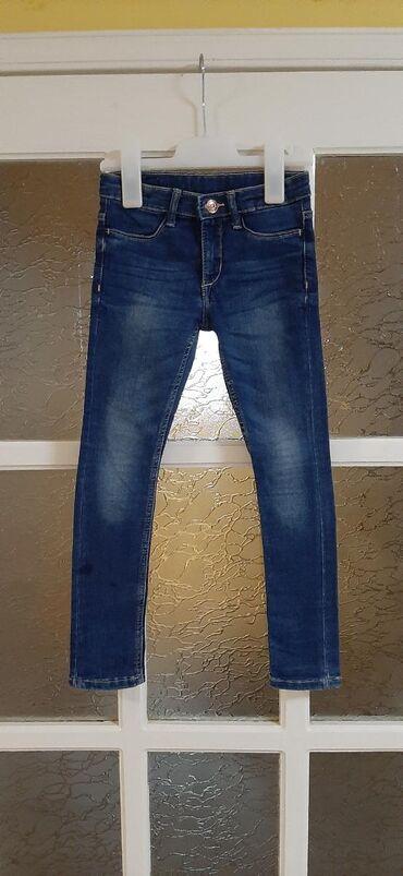 Dečije Farmerke i Pantalone   Kragujevac: H&M skinny fit farmerice, vel 116cm. Rastegljivi teksas