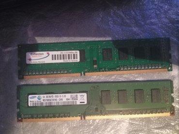 Sumqayıt şəhərində DDR3 2gb ramlar 2ədəd biri 15azn