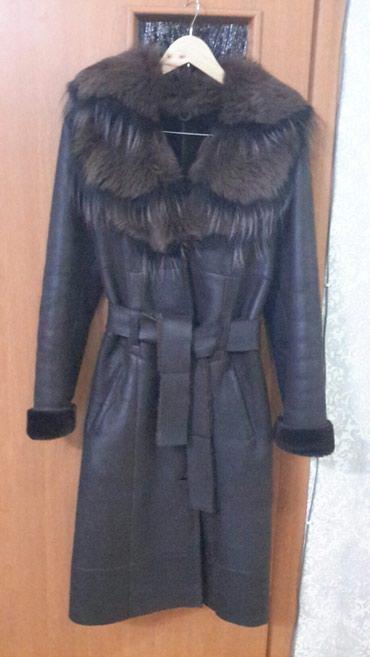 Пальто - Сокулук: Дубленка натуральная в очень хорошем состоянии. Размер 46, 48