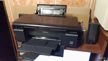 Принтер Epson T50, СНПЧ, б/у, отличное состояние