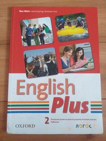 Sport i hobi - Kostolac: Udzbenik iz engleskog jezika za 6.razred,izdavac Logos,cena 300 din