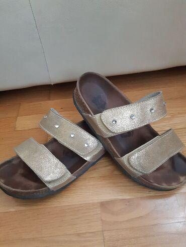 GRUBIN papuče, kožne, korišćene, odlično očuvane. Cena 1.400 din