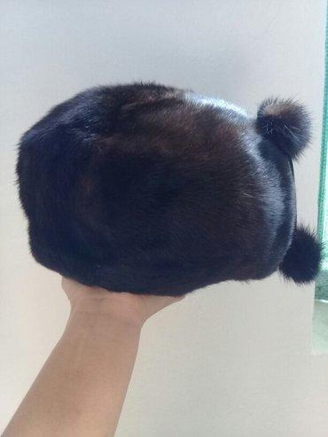 женская норковая шапка б.у.  в Кок-Ой
