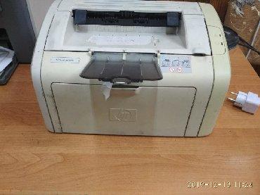 принтер hp laser jet 1018 в Кыргызстан: Принтер НР LJ 1018