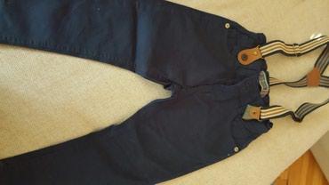 Teget pantalone sa tregerima  vel.3 (104) - Pozarevac