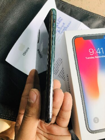 IPhone X 64gb 10/10 condition with box & bill WhatsApp only + в Бишкек