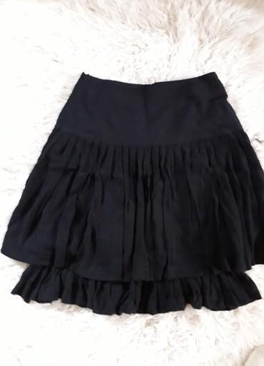 Zimska suknjica - Srbija: Prelepa crna suknjica. M kao nova. za jesen