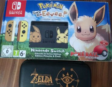 Video igre i konzole | Srbija: Nintendo konzola Switch Pikachu & EeveeNintendo konzola sa svom