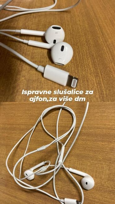 Apple Iphone - Zrenjanin: Ispravne iphone slušalice